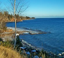 North of TWO Harbors ~ Lake superior, Minnesota by Diane Trummer Sullivan
