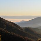 Valley Fog At Sunrise by Jean Gregory  Evans