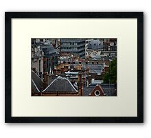 London Rooftop Fantasy Framed Print