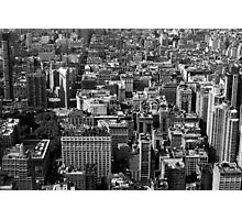 A cut out of NYC Photographic Print