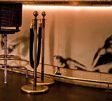 Velvet Rope & Stool by phil decocco