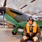 James May`s 1:1 Airfix Spitfire by Colin  Williams Photography