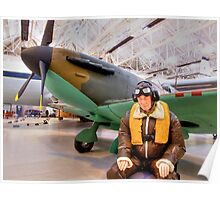 James May`s 1:1 Airfix Spitfire Poster