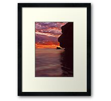 Dusk over Monkey Island Framed Print
