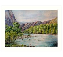 Chulyshman Valley Art Print