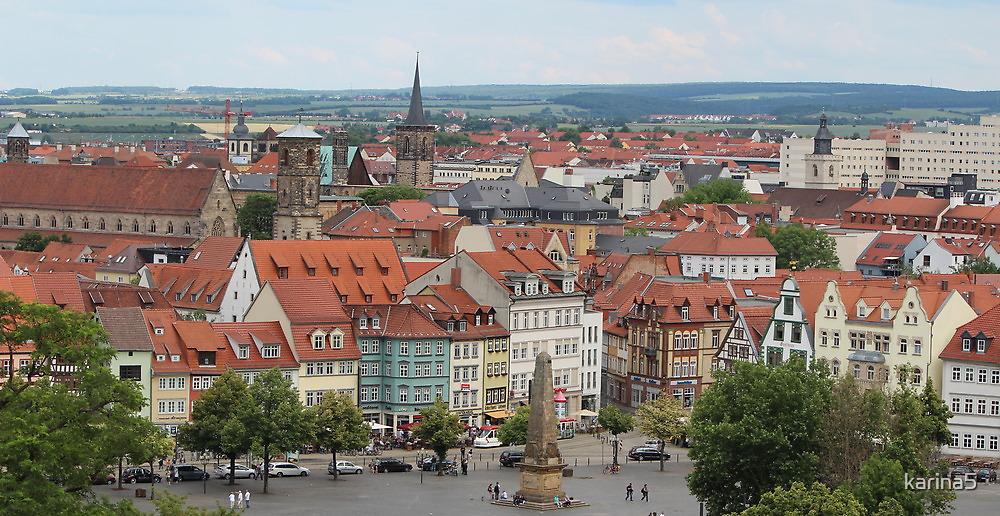 Erfurt - Medieval Town by karina5
