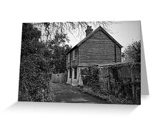 The Drove and Church View, Fordwich Greeting Card