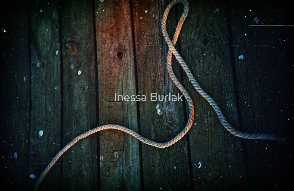 sunset rope by Inessa Burlak