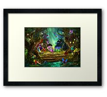 The Dancing Auroras Framed Print