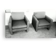Patio Furniture Canvas Print