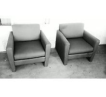 Patio Furniture Photographic Print