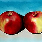 four apples by Ben Pateman