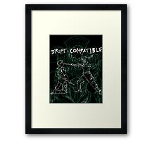 Pacific Rim Drift Compatible Framed Print