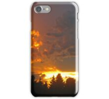 Northern Alberta Sunset iPhone Case/Skin