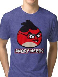 Angry Nerds Tri-blend T-Shirt