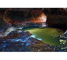 Subway, Zion National park, Utah Photographic Print