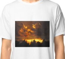 Sunset in Alberta Classic T-Shirt
