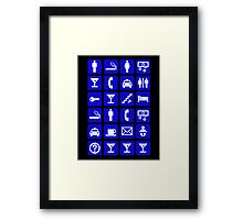 The 1 night stand Framed Print