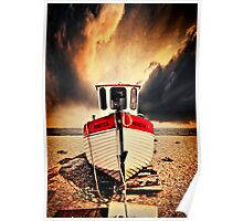 fishing boat rebecca Poster