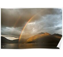 Kintail Rainbows Poster