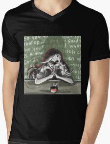 the evil teacher Mens V-Neck T-Shirt