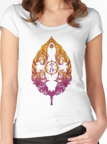 Serenity Victoriana - Color Women's Fitted Scoop T-Shirt