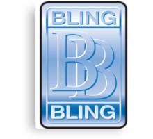 Bling Bling Canvas Print