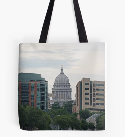 Madison Wisconsin the Capitol Building Tote Bag