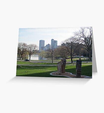 Milwaukee Skyline Cityscape Greeting Card