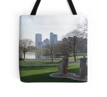 Milwaukee Skyline Cityscape Tote Bag