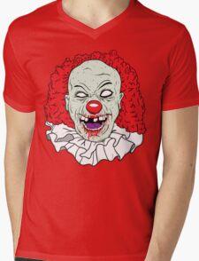 Zombie clown Mens V-Neck T-Shirt