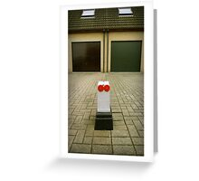 Suburbian robot Greeting Card