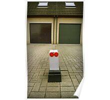 Suburbian robot Poster