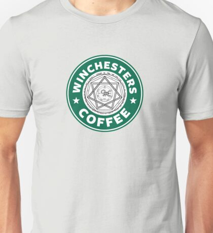 Winchesters Coffee Unisex T-Shirt