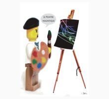 Le Peintre (The Painter) One Piece - Long Sleeve