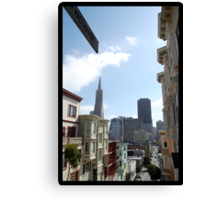Peter Macchiarini Steps - San Francisco, CA Canvas Print