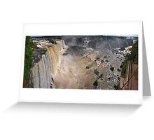 Iguazu Overview Greeting Card