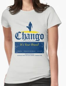 Chango Beer Womens Fitted T-Shirt