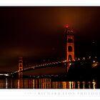 Foggy Golden Gate •  Presidio Yacht Club by Richard  Leon