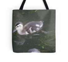 Ducklings on Lake Monona Tote Bag