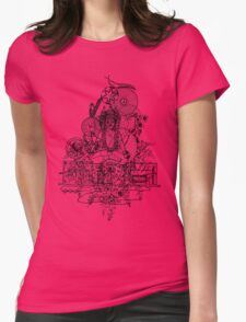Attraction Womens Fitted T-Shirt