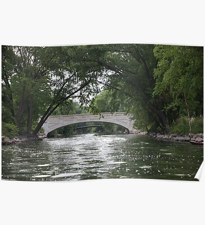 The Yahara River Poster