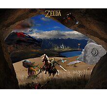 The Legend of Zelda. Cave of Dangers Photographic Print
