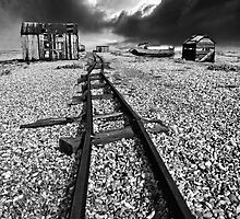 rails to the horizon by meirionmatthias