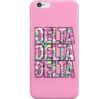 Delta x3 iPhone Case/Skin