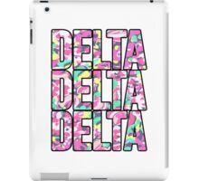 Delta x3 iPad Case/Skin