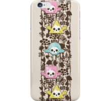 Birds and skulls, iPhone Case/Skin