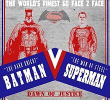 Batman v Superman - Fight Night by jredthered