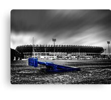 Murrayfield Stadium, Edinburgh, Scotland Selective Colouring Canvas Print