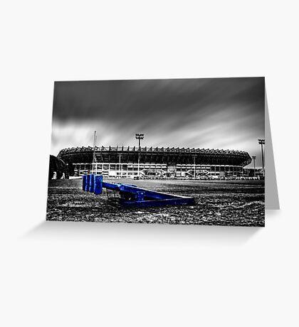 Murrayfield Stadium, Edinburgh, Scotland Selective Colouring Greeting Card